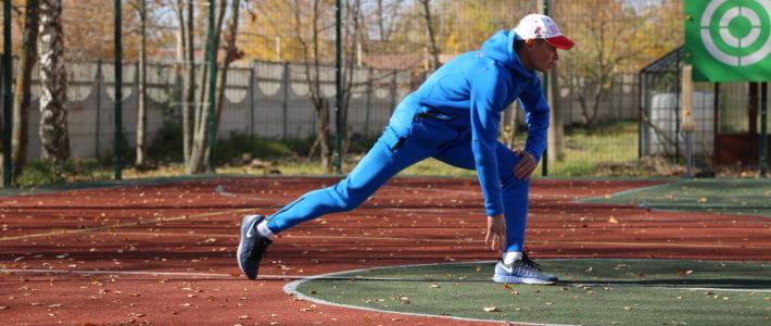 Разминка по олимпийски!