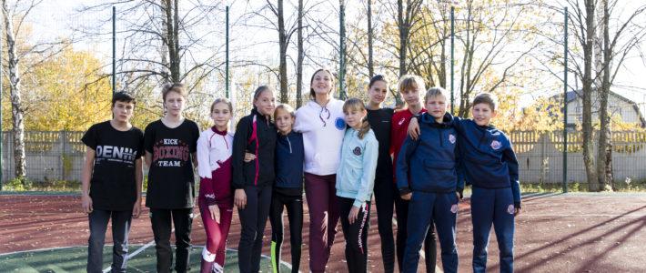 Участники сентябрьской программы «Легкая атлетика»