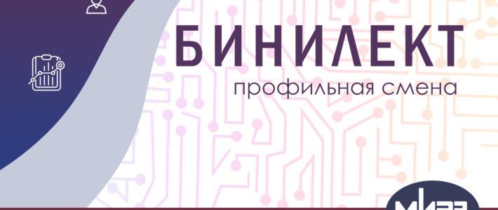 Дополнительная образовательная программа «БИНИЛЕКТ»